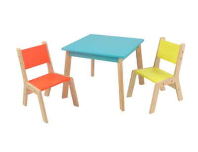 Modern Kids Table Chair Set Toddler Children Play Activity Playroom Furniture