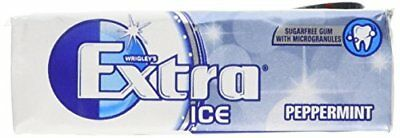 Wrigley s Extra Ice Peppermint Sugarfree Gum with Microgranules 10 Pieces x 30