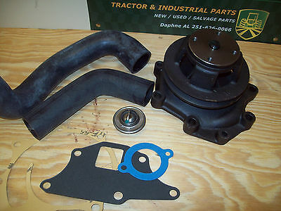 Ford Tractor Water Pump Kit W/hoses / Thermostat / Gkts - 5000 6600 5600 + More