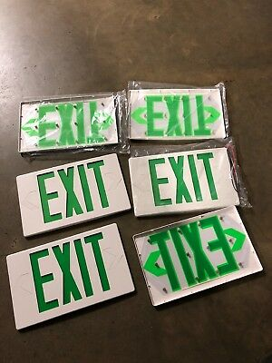 Green exit sign emergency light (Cover Only)