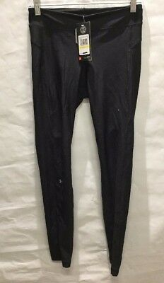 NWD Under Armour Women's HeatGear Armour Leggings Black Sz: M (BS)