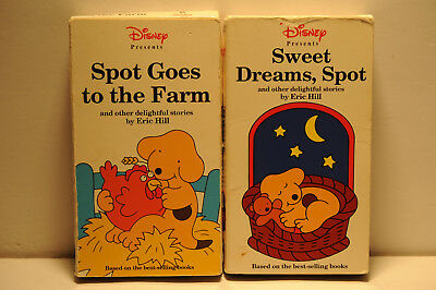 Disney Sweet Dreams Spot Spot Goes To The Farm Children S Animated Vhs Tape 7 99 Picclick