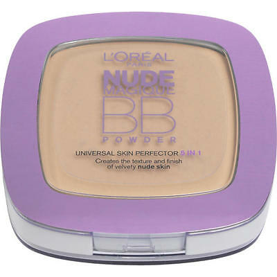 L'Oreal Nude Magique Universal Skin Perfector 5in1 BB Powder-Light Skin