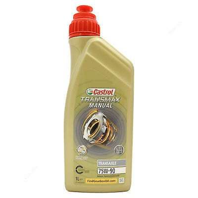 Castrol Syntrans Transaxle 75W-90 Synthetic Transmission Fluid 75W90 1 Litre 1L