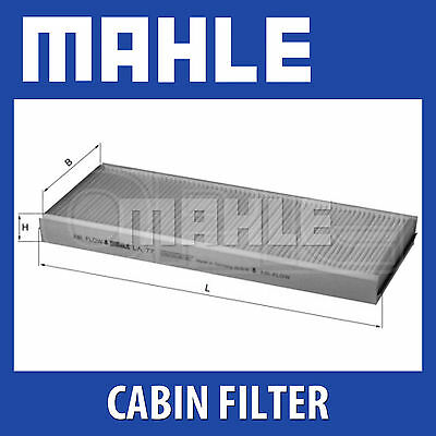 Mahle Pollen Air Filter - For Cabin Filter LA77 - Fits Ford Fiesta