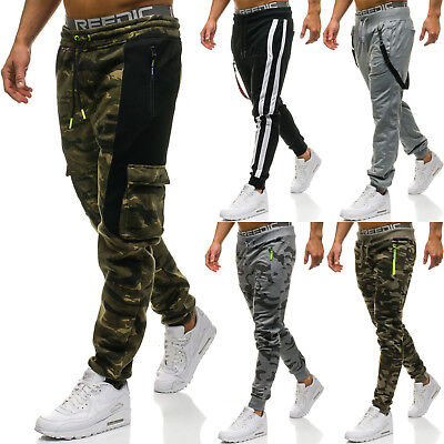 BOLF Mens Sweatpants Pants Jogging Training Trousers Joggers Army 6F6 Camouflage