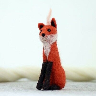 Fox Needle felting crafts kit - Great new gift for children or adults