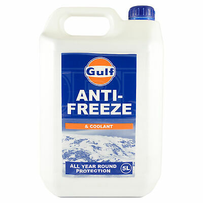 Gulf Anti Freeze & Coolant Concentrate - All Year Round Protection 5 Litres 5L