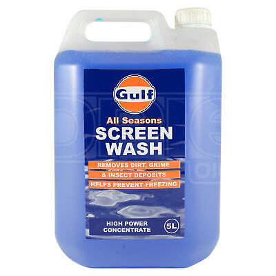 Gulf All Seasons Screen Wash - High Power Concentrate 5 Litres 5L