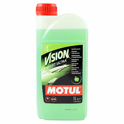 Motul Vision Expert Ultra - APPLE SMELL- Concentrated windscreen wash - 1 Litre