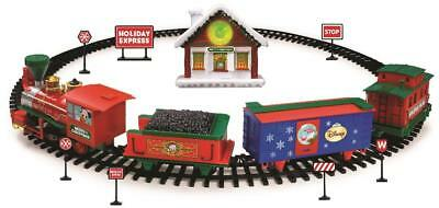 disney mickey mouse battery operated christmas train set - Disney Christmas Train