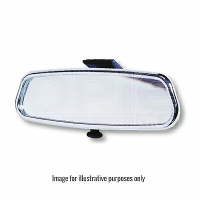Summit Rear View Mirror - Dipping - Suction Pad - Chrome
