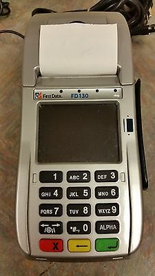 First Data FD130 EMV Terminal  - Chip Card Reader Credit Card Machine
