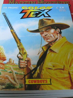 Tex Willer Color n. 11 - Cow Boys - Sergio Bonelli Editore