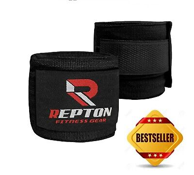 Boxing Hand Wraps Mau Thai MMA Bandages Repton Elasticated Boxing Hand wraps 2pc