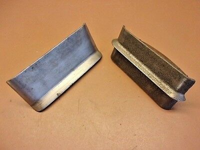 Vtg Pair of Concrete Tools #18 Edger and #1 Center Groover Two Good Old Users!
