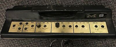 Vintage 1960's Magnatone Custom M8 Tube Amplifier Project, Partial Chassis