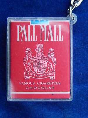 PORTE-CLES / Key ring - CHOCOLOR - PALL MALL - CIGARETTE - PAQUET / Packet