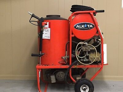 Used Alkota 4302 Hot Water 1PH / Diesel 4GPM @ 3000PSI Pressure Washer