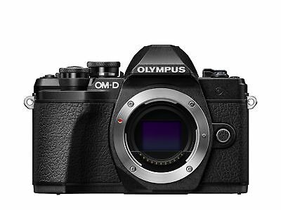 Olympus OM-D E-M10 Mark III Compact System Camera - Black Body