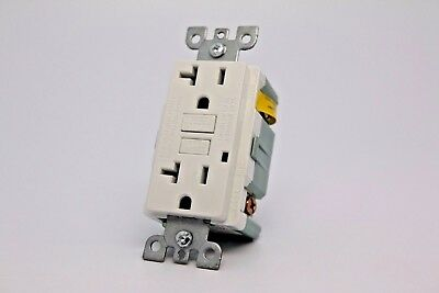 20A Gfci Safety Outlet 2008 Ul - White