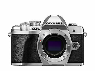 Olympus OM-D E-M10 Mark III Compact System Camera - Silver Body