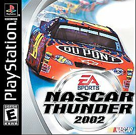 NASCAR Thunder 2002 (Sony PlayStation 1, 2001)  COMPLETE  FAST SHIPPING !   PS1