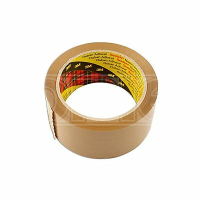 Connect Parcel Tape - Brown - 50mm x 66m (35217) - Pack of 36