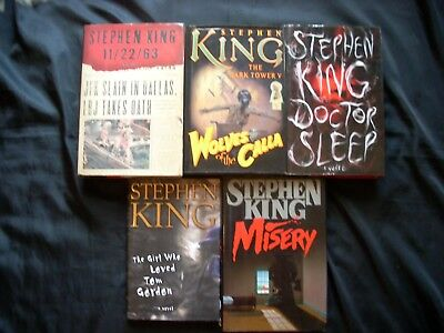 Stephen King 38 Book Lot LIKE NEW!  30 H/C-5 P/B Trade Editions & 3 P/B-NICE