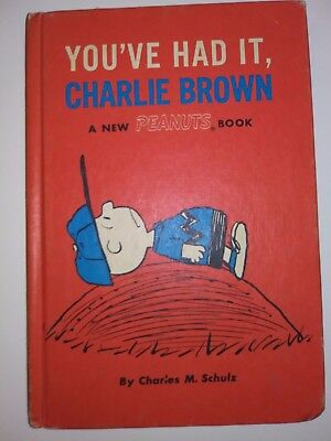 You've Had It, Charlie Brown Hardcover (1969 A New Peanuts Book)