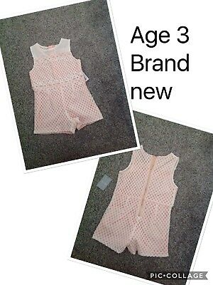Girls Play suit Age 3