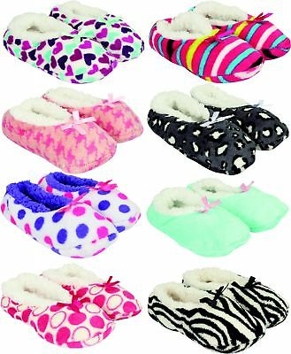Cozy Slippers Cosy Fleece Warm Winter Soft Touch Comfort New Fur Womens