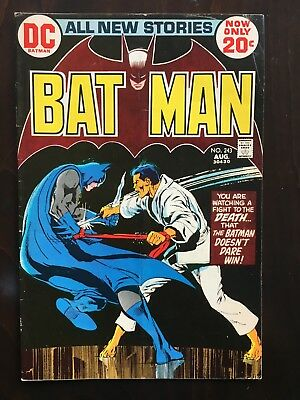 Batman Comics Lot #243, 245, 246 - Neal Adams Art