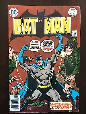 Batman Comics Lot #281, 282, 283, 286 - Great Joker Cover