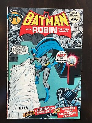 Batman Comics #240, 241, 242 - Neal Adams Art
