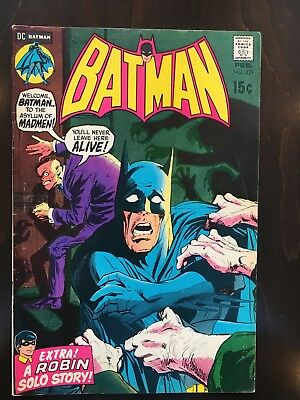 Batman Comics #229, 230, 231- Neal Adams Art