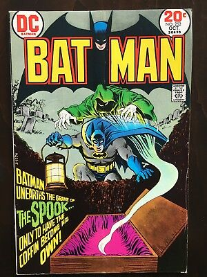 Batman Comics Lot #252 and 253  - Bronze Age Batman Kaluta Cover