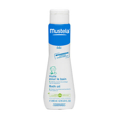 Mustela Baby Bath Oil - Vegetable Oil Complex - 6.76 OZ