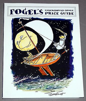 FOGEL'S UNDERGROUND COMIX PRICE GUIDE 1st Edition 2006 Hippy Comics