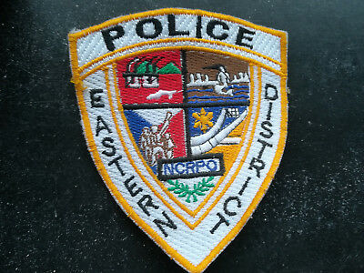Police Philippines Pulis Eastern District Patch