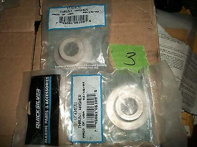 1 NOS QuickSilver Mercury Propeller Thrust Washer P/N 858498