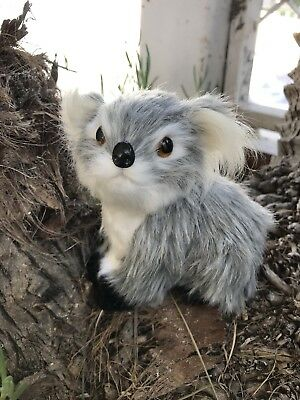 REALISTIC Koala Furry Animal * Baby Shower Prop or Gift Idea * Christmas Decor