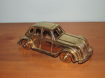 VINTAGE BRASS CAR PAPER WEIGHT FROM BALLYS GRAND HOTEL IN LAS VEGAS (Lot G)