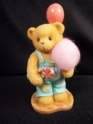 Cherished Teddies bisque figurine Mike Sweet on You Adoption event 1998 356255