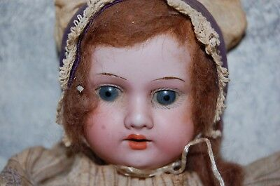 """Antique 12"""" Armand  Marseille 390 A5/OM German Bisque Baby Doll Composition Body"""