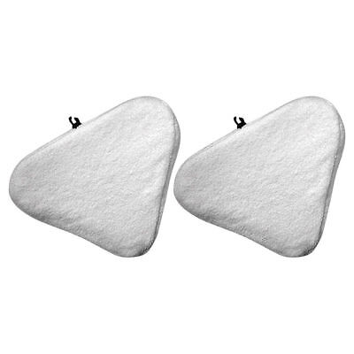 Felji 2 Pack Microfiber Replacement Pads for H20 Steam Mop Cleaner T1 Micropad