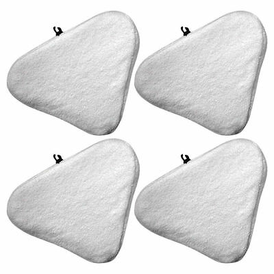 Felji 4 Pack Microfiber Replacement Pads for H20 Steam Mop Cleaner T1 Micropad