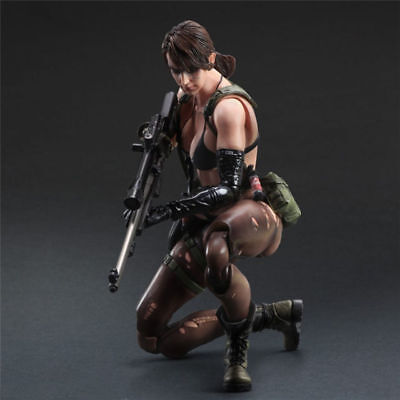 Metal Gear Solid V The Phantom Pain Play Arts Kai Quiet Action Figure Toy Doll.
