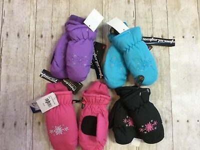 Igloos Toddlers Girls Winter Gloves Waterproof Assorted Color Mittens Thinsulate