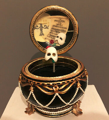"Phantom of the Opera ""Music Of The Night"" Mask Trinket Music Box (San Francisco)"